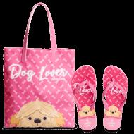 Imagem - Kit Chinelo+Bolsa Petite Jolie Dog Lover Pj10256