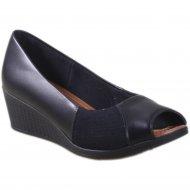 Imagem - Sapato Peep Toe Usaflex Care Couro AE0302