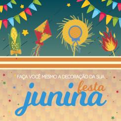 Imagem - Aposte nas cores e faça você mesmo a decoração da sua Festa Junina