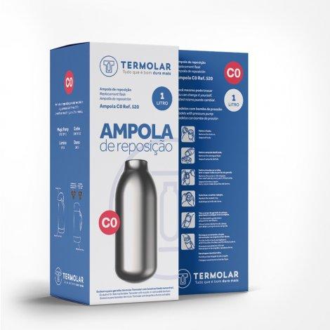 Ampola de Reposição C0 para Garrafa Térmica Termolar 1L