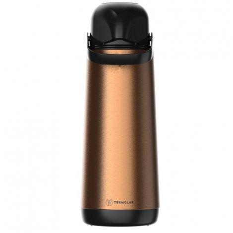 Garrafa Térmica Inox Lúmina Cobre 1.8L Bomba de Pressão
