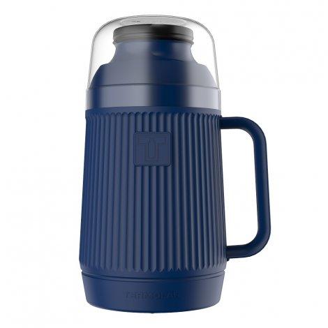 Garrafa Térmica Mundial 500ml Azul Anoitecer Rolha Clean