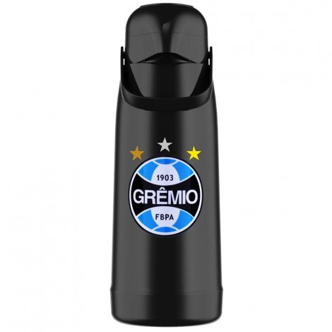 Garrafa Térmica Pressão Magic Pump 1.8L Grêmio Oficial