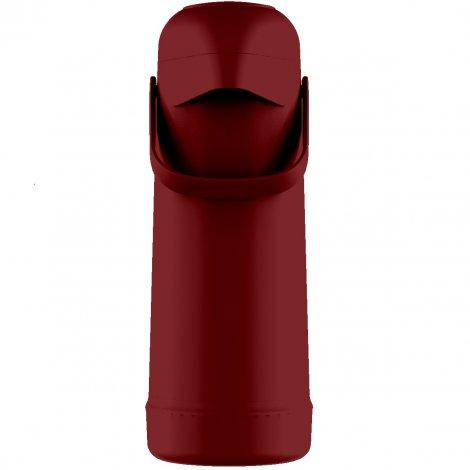 Garrafa Térmica Pressão Magic Pump 1L Vermelho Aurora
