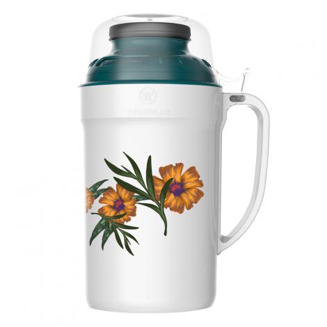 Garrafa Térmica Versatile 500ml Floral Rolha Clean