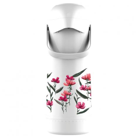 Garrafa Térmica Pressão Magic Pump 1L Floral