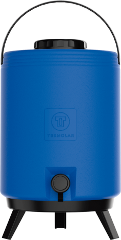 Botijão Térmico Maxitermo 12L Azul