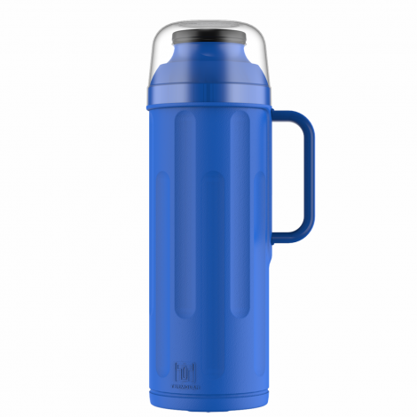 Garrafa Térmica Personal 1L Azul Rolha Clean