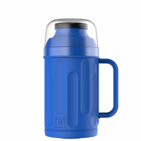 Garrafa Térmica Personal 500ml Azul Rolha Clean