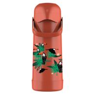 Imagem - Garrafa Térmica Pressão Magic Pump 1L Tropical cód: 56628