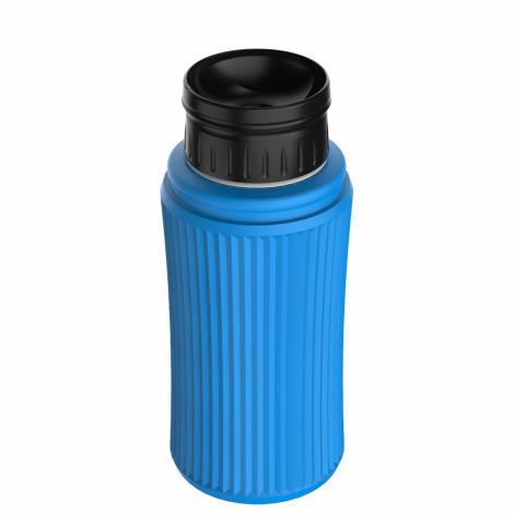 Kit Bolsa Térmica Termobag 5L + Garrafa Térmica Minitermo 300ml Azul 3