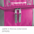 Bolsa Térmica Termobag 5L Termolar Rosa 3
