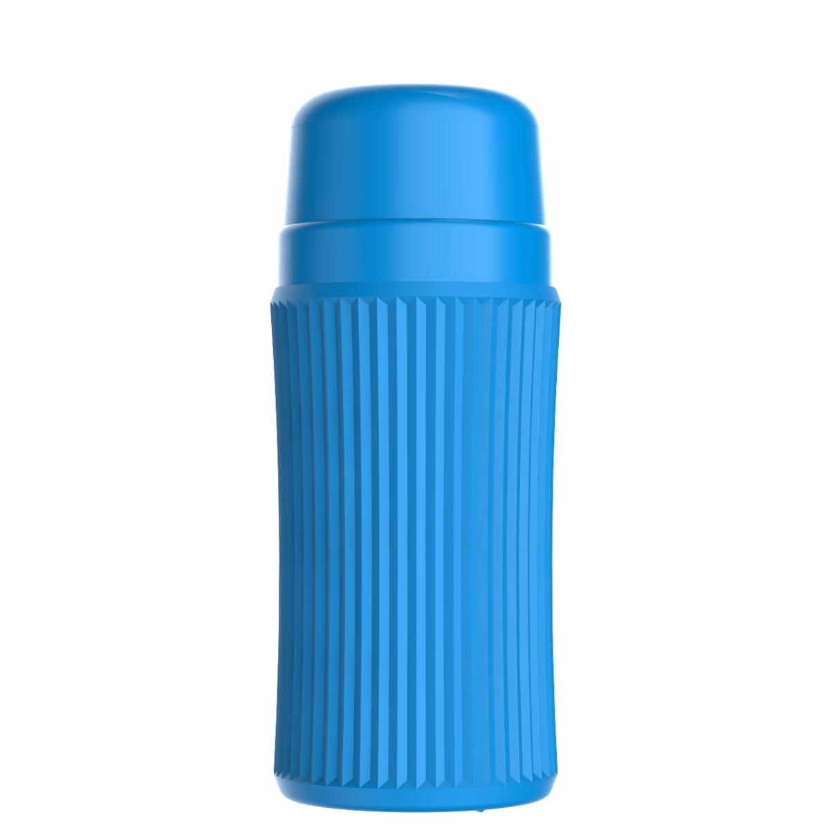 Minitermo Azul 300ml - Rolha Clean