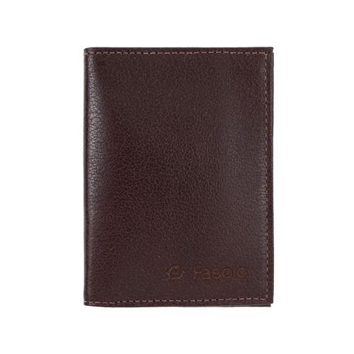 Carteira Masculina Porta Documentos em Couro Legítimo Capretto Fasolo K084-143