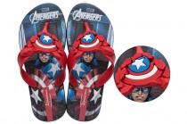 Chinelo Infantil Avengers Combat Capitão América Ipanema 26160