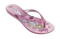 Chinelo Infantil Feminino Barbie Rasteira Grendene Kids 21593