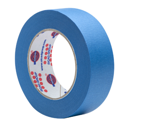 Fita Crepe Azul 50x50 Eurocel