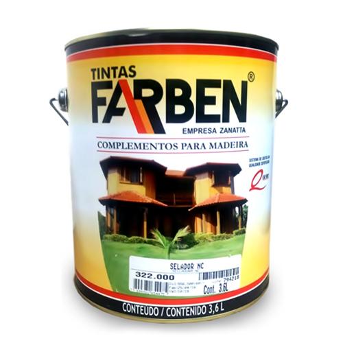 Selador Incolor para Madeira Farben 3,6