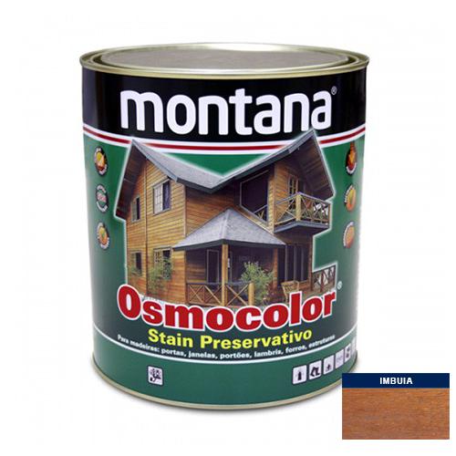 Stain Acetinado Imbuia Osmocolor Montana 0,9l