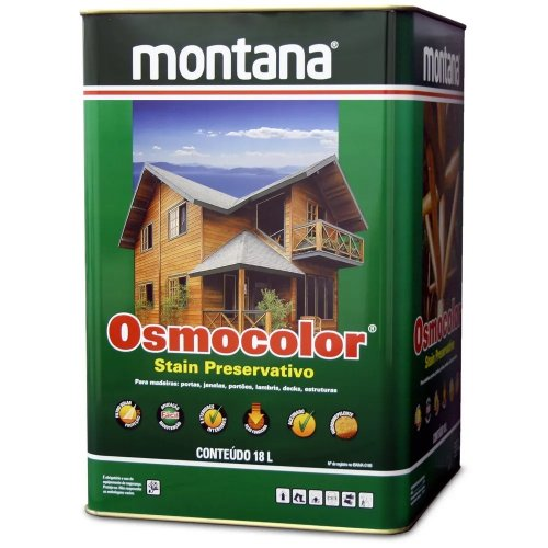 Stain Acetinado Imbuia Osmocolor Montana 18l