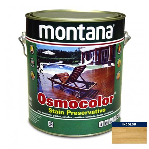Stain Acetinado Incolor UV Glass Osmocolor Montana 3,6l