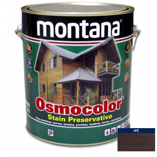 Stain Acetinado Ipê Osmocolor Montana 3,6l