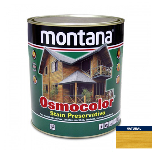 Stain Acetinado Natural Osmocolor Montana 0,9l