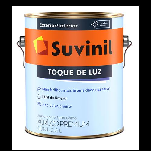 Tinta Acrílica Semibrilho Branco Premium Suvinil 3,6l
