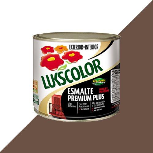 Tinta Esmalte Brilho Tabaco Premium Lukscolor 0,225l