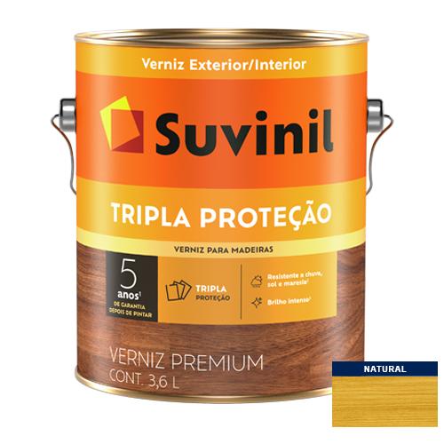 Verniz Brilho Natural Tripla Proteção Suvinil 3,6l