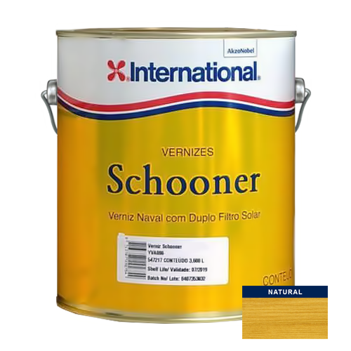 Verniz Schooner Naval International Semibrilho 3,6l