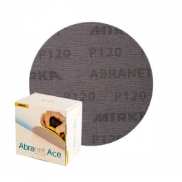 Imagem - Lixa Disco 150mm Abranet Ace Mirka P120 Caixa com 50 unidades