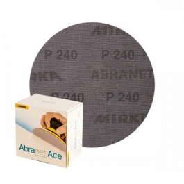 Imagem - Lixa Disco 150mm Abranet Ace Mirka P240 Caixa com 50 unidades