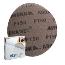 Imagem - Lixa Disco 225mm Abranet Mirka P150 Caixa com 25 unidades