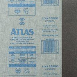 Imagem - Lixa Ferro Atlas 120
