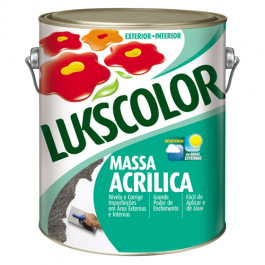 Imagem - Massa Acrílica Lukscolor 3,6l