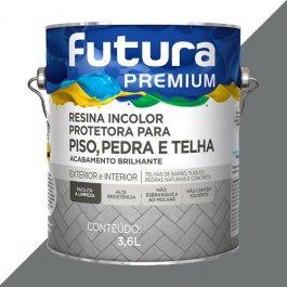 Imagem - Resina Acrílica Base Água Cinza Brilho Futura 3,6l