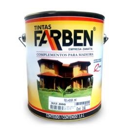 Imagem - Selador Incolor para Madeira Farben 3,6