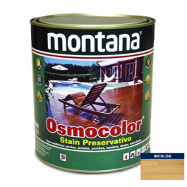 Imagem - Stain Acetinado Incolor UV Glass Osmocolor Montana 0,9l