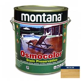 Imagem - Stain Acetinado Incolor UV Glass Osmocolor Montana 3,6l