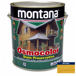 Imagem - Stain Acetinado Natural Osmocolor Montana 3,6l