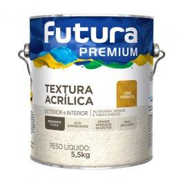 Imagem - Textura Acrílica Lisa Versátil Premium Futura 3,6l