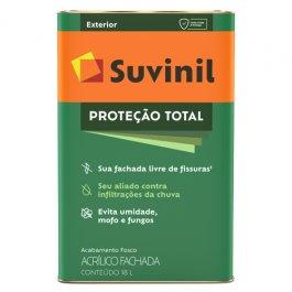 Imagem - Tinta Acrílica Fosco Branco Proteção Total Suvinil 18l
