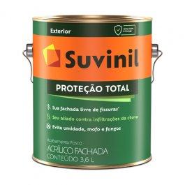 Imagem - Tinta Acrílica Fosco Branco Proteção Total Suvinil 3,6l