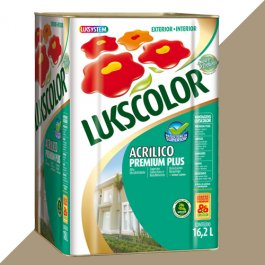 Imagem - Tinta Acrílica Fosco Camurça Premium Lukscolor 16,2l