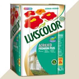 Imagem - Tinta Acrílica Fosco Palha Premium Lukscolor 16,2l