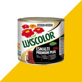 Imagem - Tinta Esmalte Brilho Amarelo Premium Lukscolor 0,225l