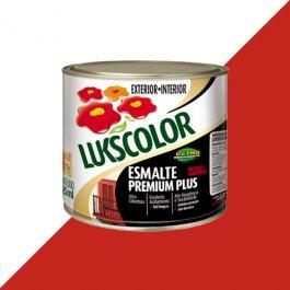 Imagem - Tinta Esmalte Brilho Vermelho Premium Lukscolor 0,225l