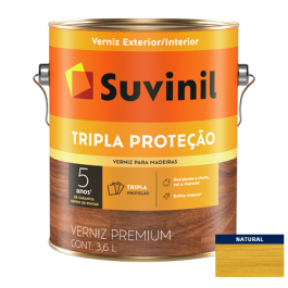 Imagem - Verniz Brilho Natural Tripla Proteção Suvinil 3,6l