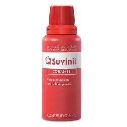 Corante Líquido Vermelho Suvinil 0,05l